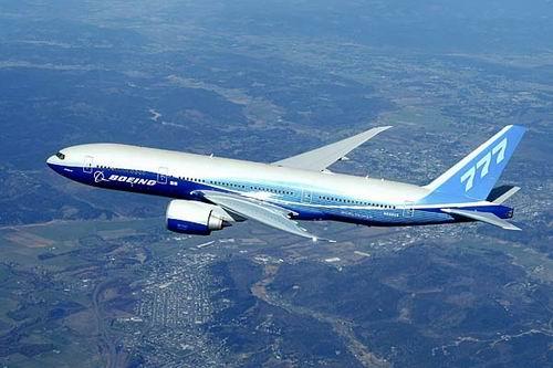 Компания Боинг получила заказ на 20 самолетов Boeing 777