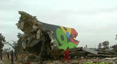 В Ливии разбился пассажирский самолет Airbus A330