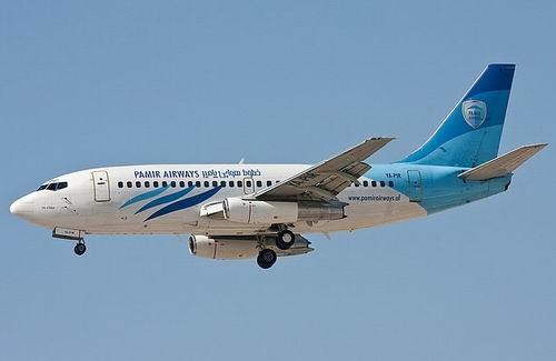 Пассажирский самолет компании Pamir Airways разбился в Афганистане