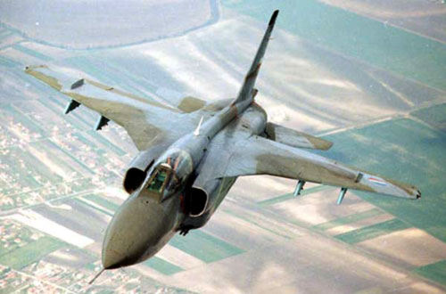 В сербии разбился военный самолет J-22 Orao