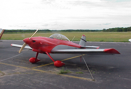 RВ США разбился одномоторный самолет RV-4