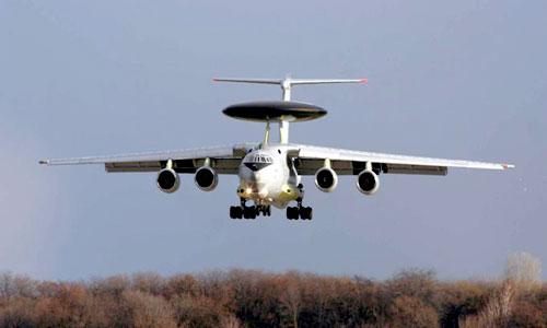 Российский самолет-разведчик А-50ЭИ