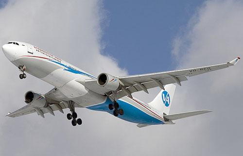 Airbus A330 Владивосток Авиа совершил аварийную посадку в Екатеринбурге
