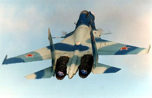 Китайцы скопировали российский истребитель Су-33