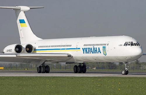 Самолет президента Украины не завелся из-за жары