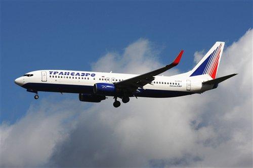 Вынужденная посадка Боинга 737-400 в аэропорту Томачево
