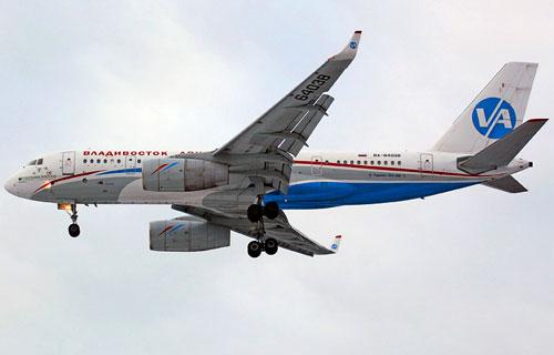 Аварийная посадка Ту-204 Владивосток-Авиа в Екатеринбурге