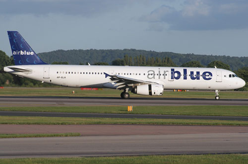 В Пакистане потерпел крушение самолет авиакомпании Airblue Airline