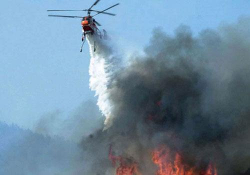 Пожарный вертолет Ка-32