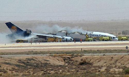 Грузовой самолет компании Lufthansa Cargo разбился при посадке