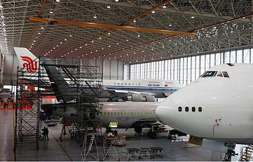 Компания Lufthansa Technik AG строит новый ангар