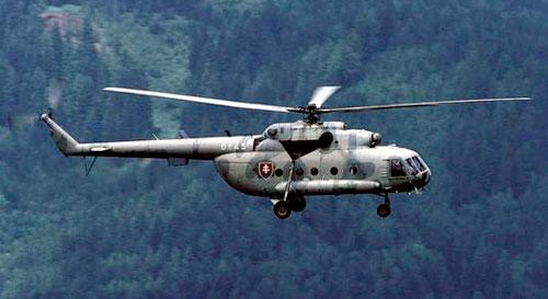 Вертолет Ми-17 стал главным событием выставки