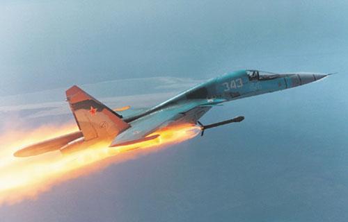 Истребитель Су-34 - фото