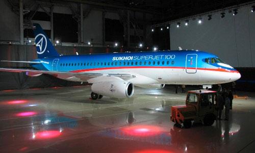 SuperJet 100 стал совместным проектом России и Франции