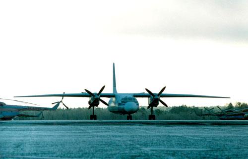 В Красноярком крае потерпел крушение самолет Ан-24