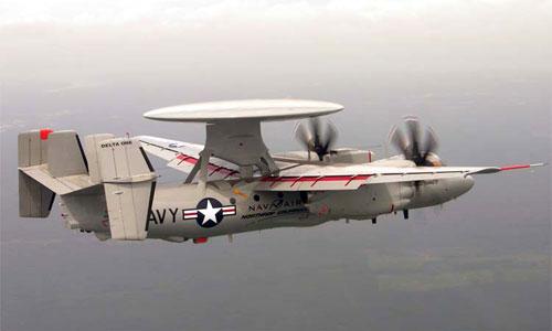 ВМС США получили первый серийный E-2D Advanced Hawkeye