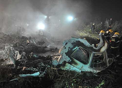 В Китае потерпел крушение пассажирский самолет Embraer E-190