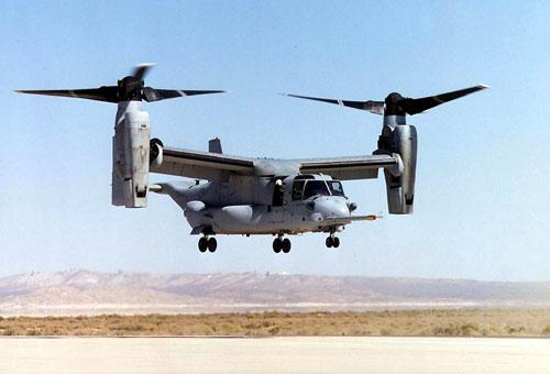 Конвертопланы Osprey вскоре начнут запускать беспилотники