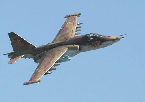 В Забайкалье разбился штурмовик Су-25 УБ