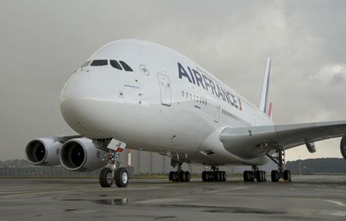 Air France совершила первый рейс в Японию на Airbus A380