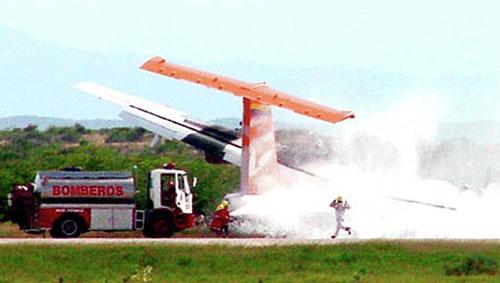 В Венесуэлле потерпел крушение пассажирский самолет ATR-42