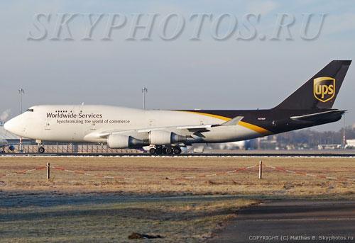 В Дубае разбился грузовой Boeing 747-400 компании UPS