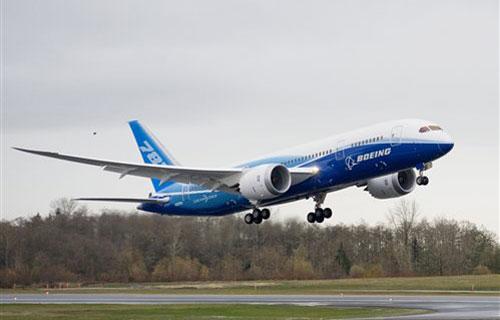 Очередные испытания Boeing 787 Dreamliner оказались сорваны