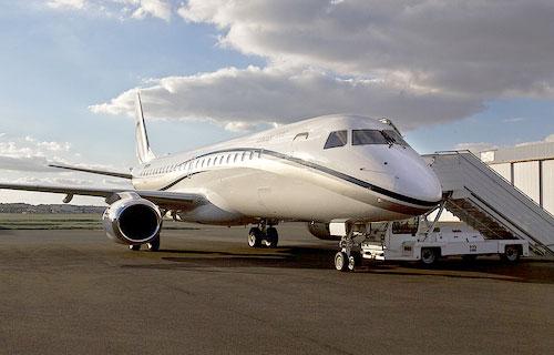 Embarer Linage 1000 провел демонстрационный полет