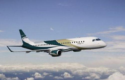Embraer поставил Lineage 1000 с эксклюзивным дизайном фюзеляжа