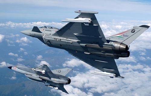 В Испании приостановлены полеты Eurofighter