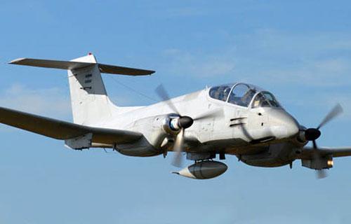 В Аргентине разбился военный самолет IA-58 Pucarа