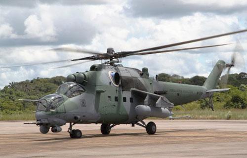 Индонезия получила три новых российских вертолета Ми-35