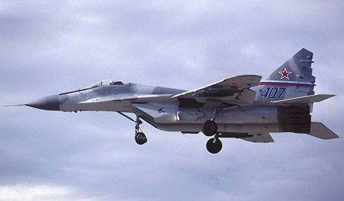 В Белоруссии потерпел крушение военный МиГ-29