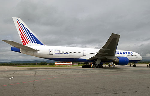 Авиакомпания Трансаэро получила седьмой самолет Boeing 777