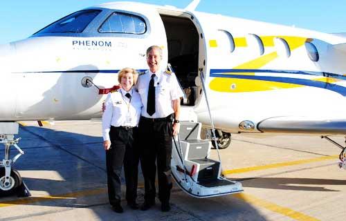 Phenom 100 совершает кругосветное путешествие