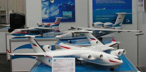 Россия начала разработку гигантского транспортного самолета