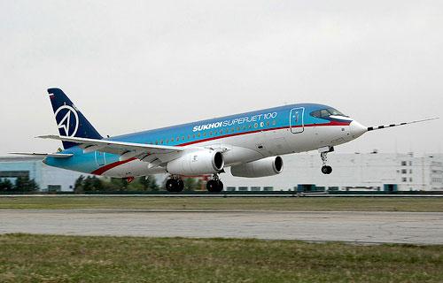 Лизинговая компания из США планирует купить шесть Sukhoi Superjet 100