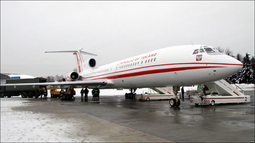 Польша получит самолет-копию Ту-154 Качиньского
