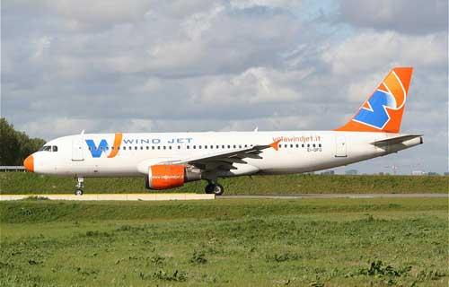 Wind Jet начала полеты из Москвы в Милан