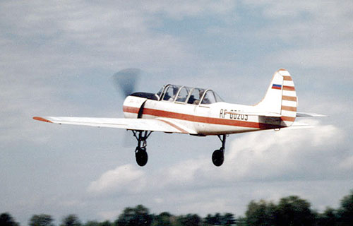В Свердловской области потерпел крушение спортивный Як-52
