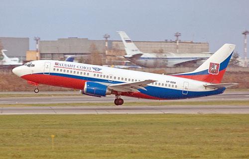 Компания Атлант-Союз переименована в Moscow Airlines