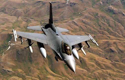 В Таиланде потерпел крушение военный истребитель F-16