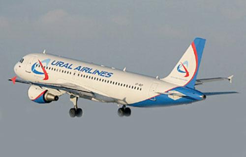 A320 Уральских авиалиний вынужденно сел в Иркутске