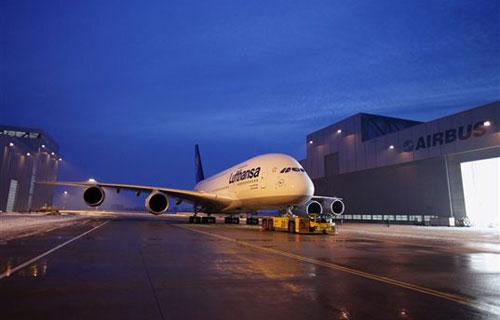 Lufthansa сняла с рейса свой Airbus A380 в Йоханнесбург