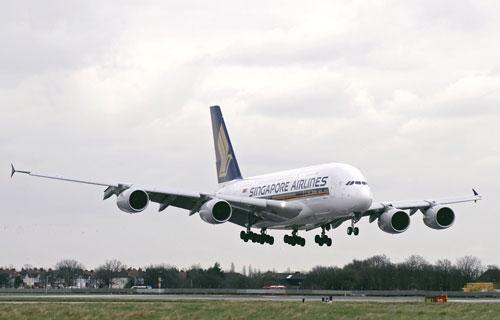 Singapore Airlines заменят все двигатели на своих Airbus A380