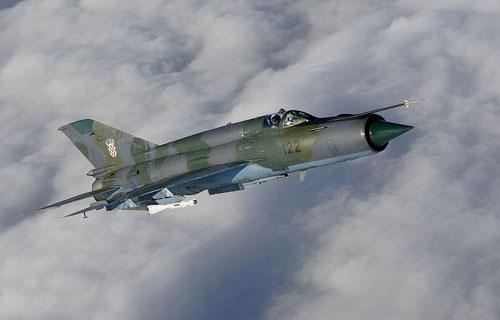 В Йемене потерпел крушение истребитель МиГ-21