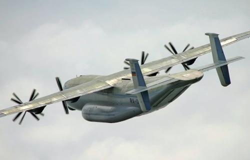 В Тульской области потерпел крушение военный Ан-22