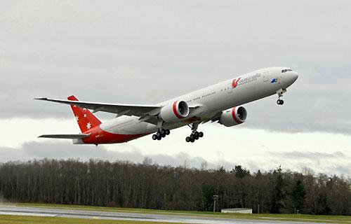 Кольцово сможет принимать Boeing 777 и Airbus A340