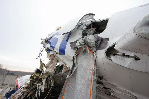 Аварийная посадка дагестанского Ту-154 в Домодедово