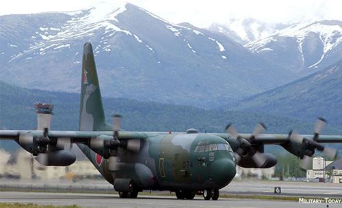 Военный самолет сша марки hercules